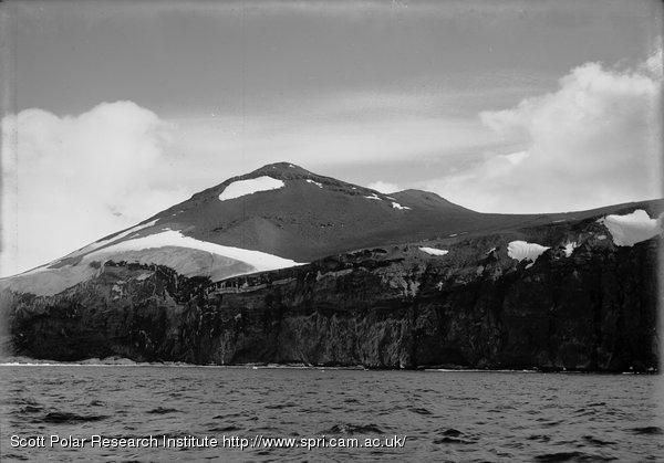 Cape Crozier Precipices. Jan. 3rd 1911.