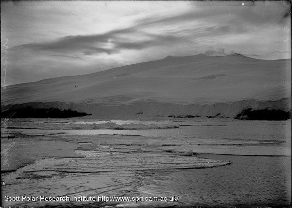 Mount Bird at 11 p.m. Jan. 3rd 1911.