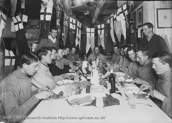 Capt Scott's birthday dinner. June 6th 1911