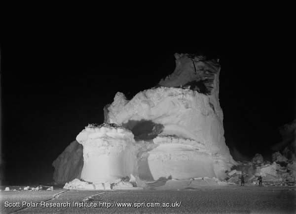 Flashlight Photograph of The Castle Berg. June 4th 1911